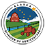 Division of Agriculture logo, color scheme