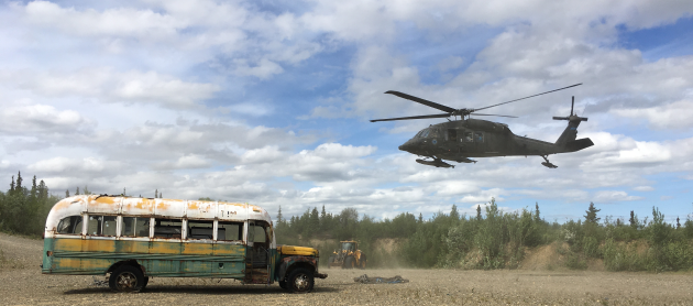 Army Guard safely removes Into the Wild bus from Stampede Trail