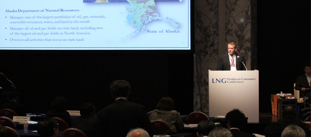 Promoting Alaska LNG to Pacific Rim markets
