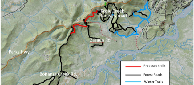 Public meeting on trails to link Tanana Valley forest roads