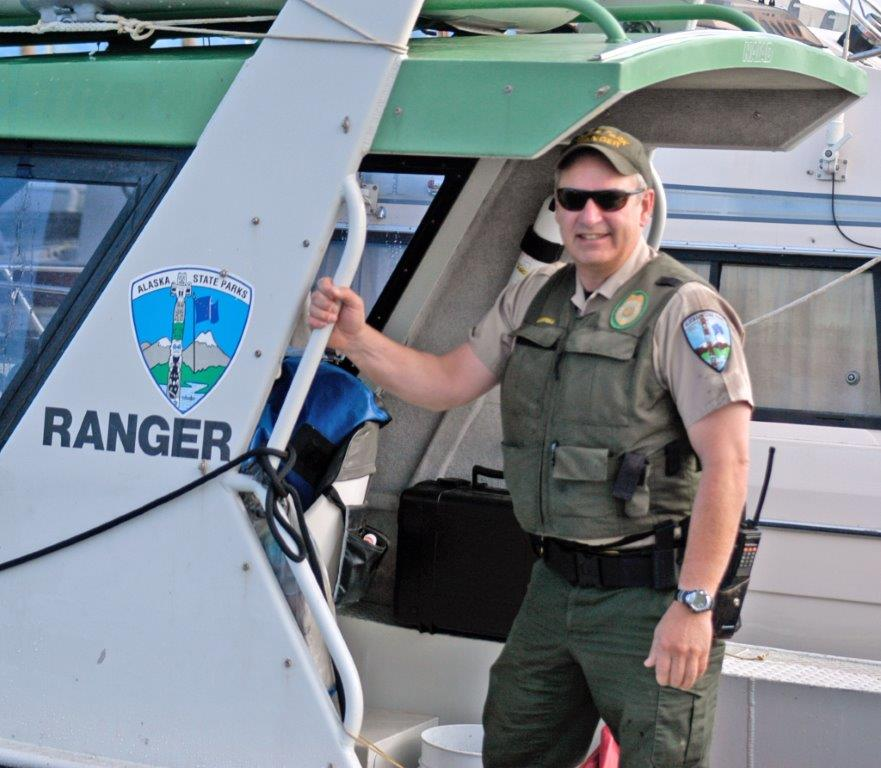Me on a boat - Ranger MacCampbell
