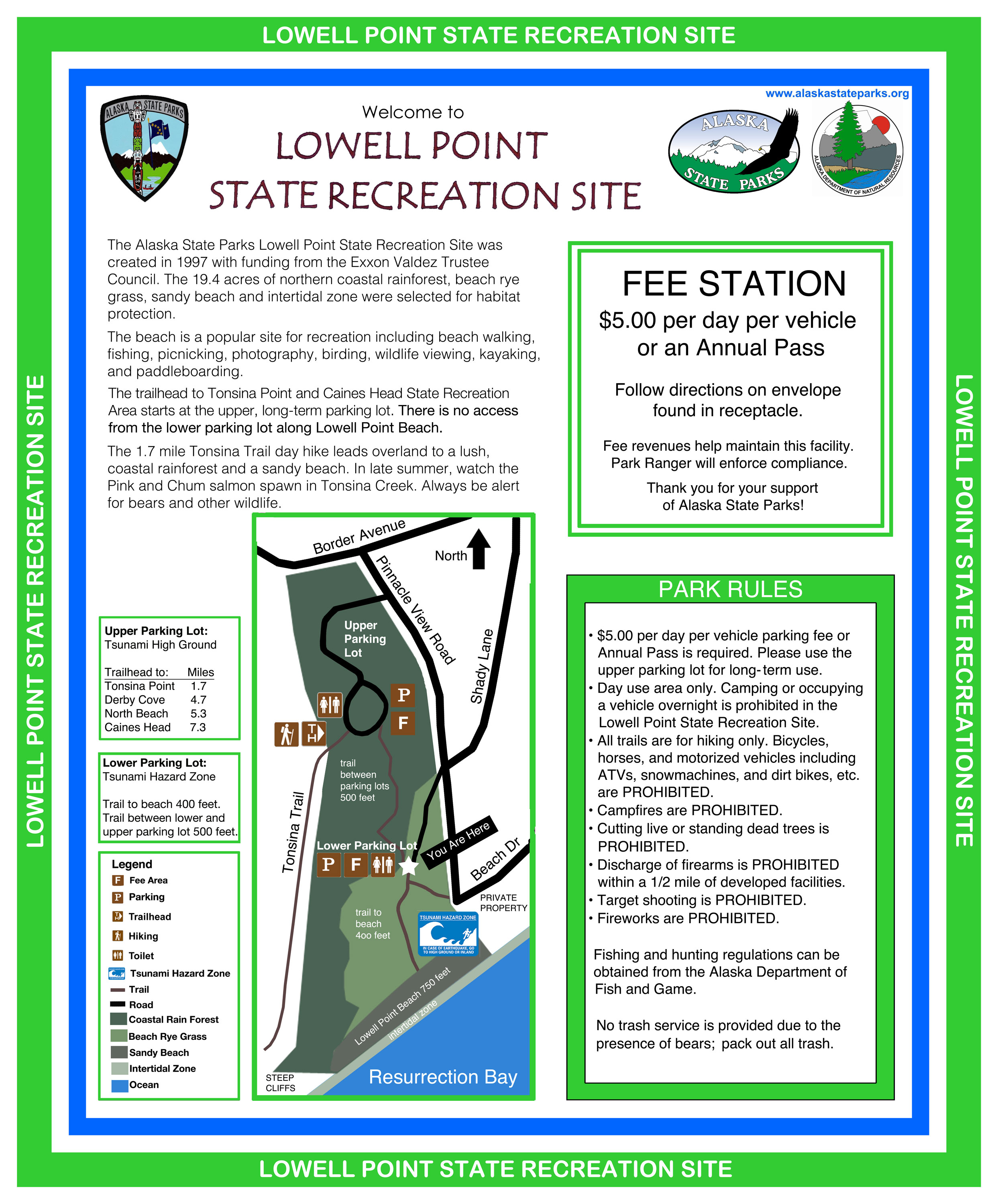 Lowell Point Bulletin