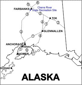 Chena River SRS Location Map