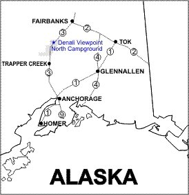 Denali North SRS Location Map