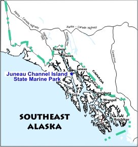 Juneau Channel Island SMP Location Map