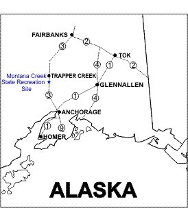 Montana Creek SRS Location Map