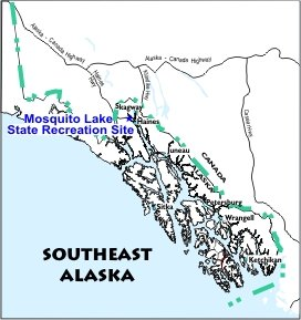 Mosquito Lake SRS Location Map