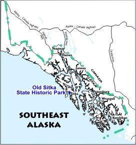 Old Sitka SHP Location Map