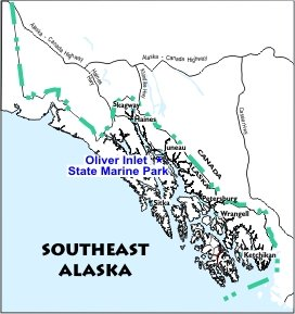 Oliver Inlet SMP Location Map