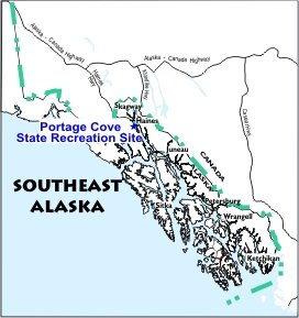 Portage Cove SRS Location Map