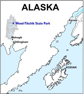 Wood-Tikchik SP Location Map