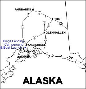 Bings Landing Campground & Boat Launch location