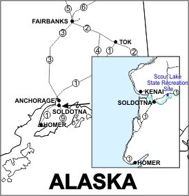Scout Lake SRS Location Map
