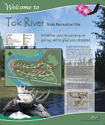 Tok River Interpretive Panel