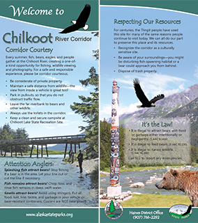Chilkoot Lake Interpretive Panel