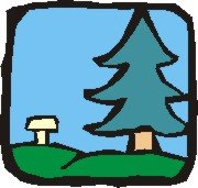 tree and bench logo