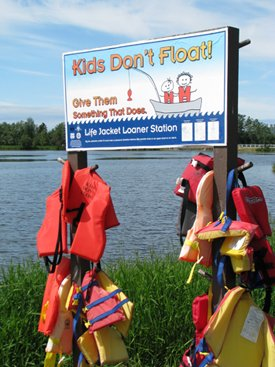 Kids Don't Float Loaner Board
