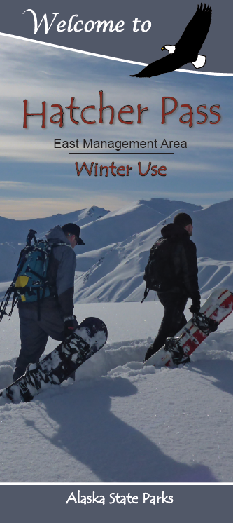 Hatcher Pass East Management Area Winter Brochure