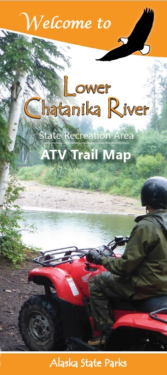 Lower Chatanika River ATV Trail Map Brochure