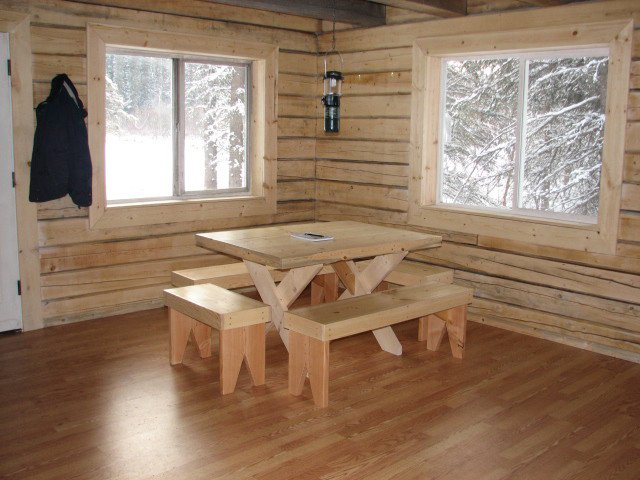 Hunt Memorial Cabin Interior 2