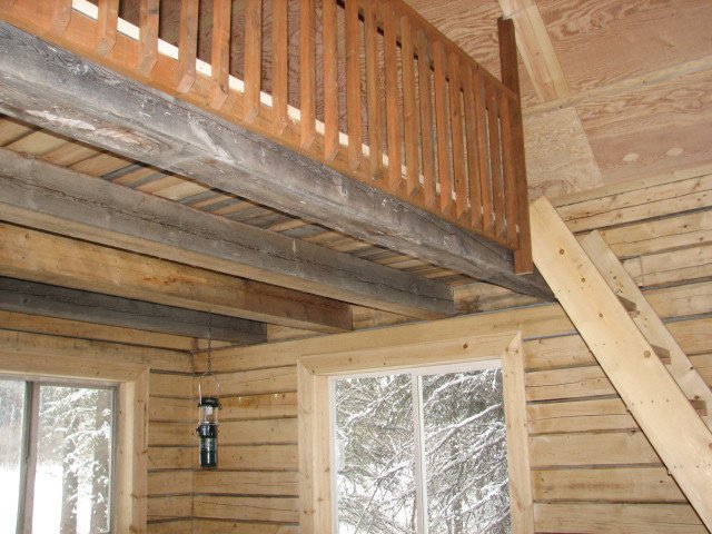 Hunt Memorial Cabin Interior loft