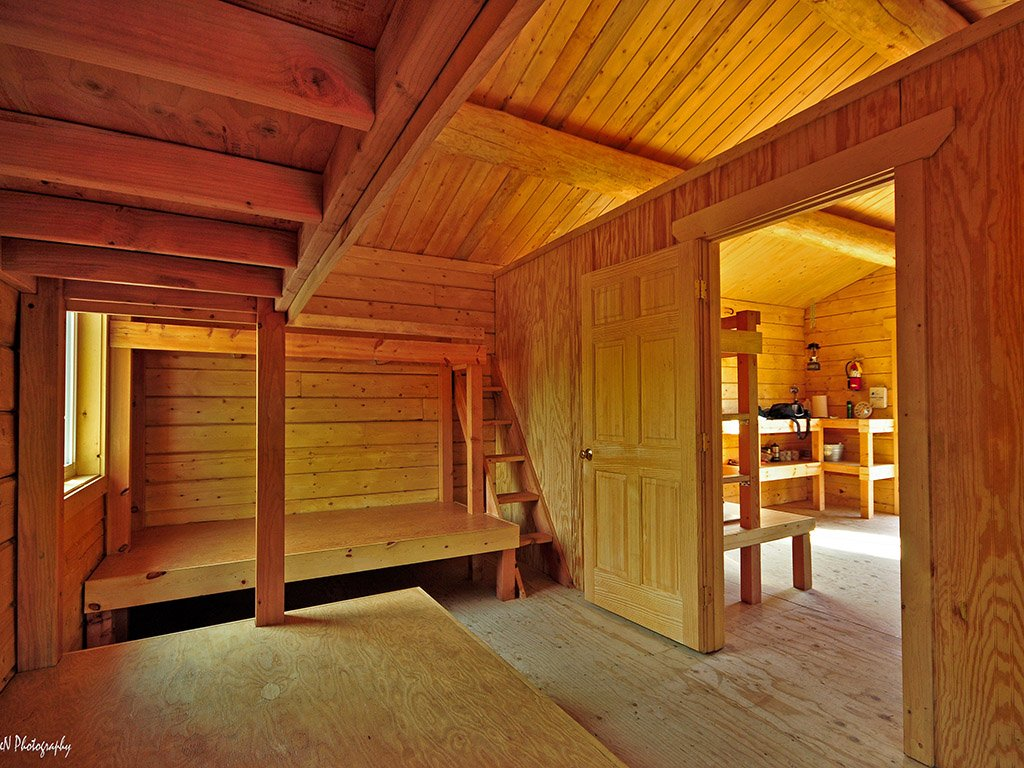 Lower Angel Creek Cabin Interior