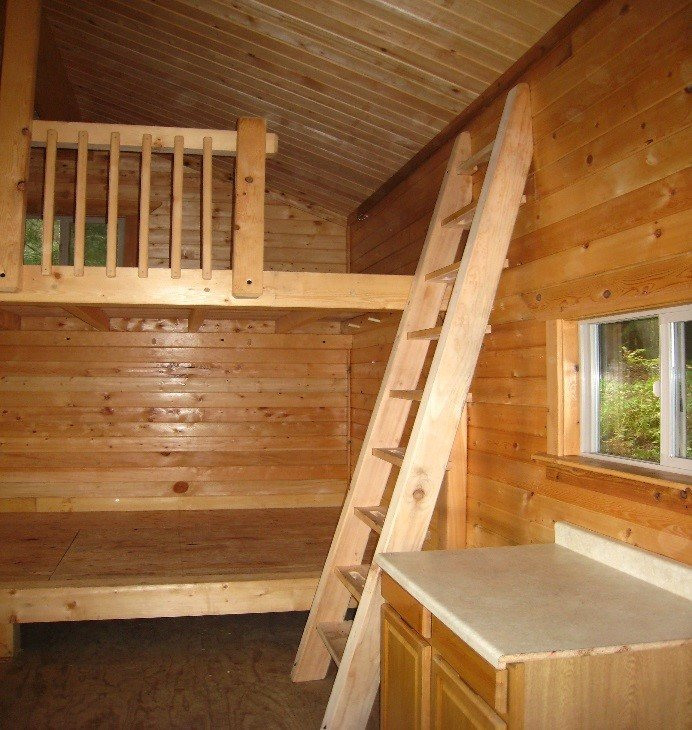 Berry Patch Cabin Interior