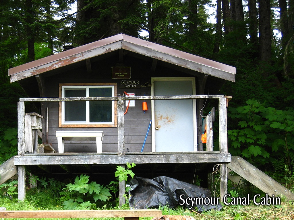 Seymour Canal Cabin Exterior