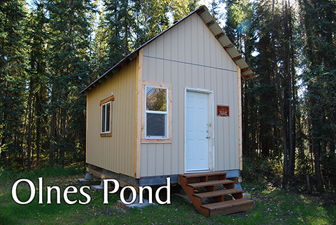 Olnes Pond Public Use Cabin