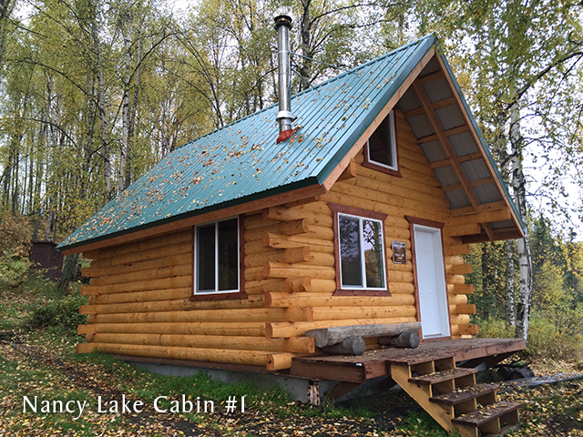 Nancy Lake Cabin #1
