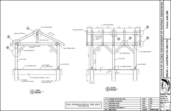 Picnic Shelter House Plans