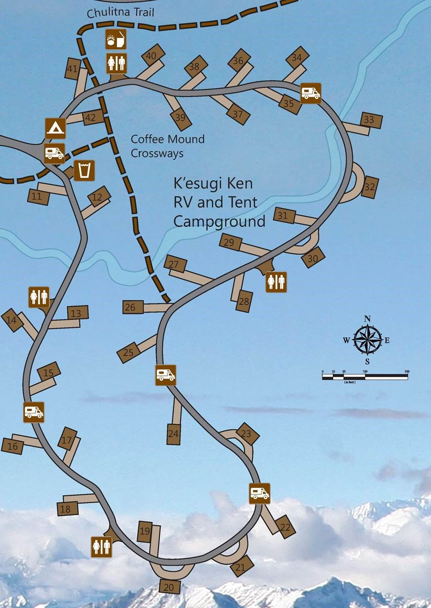 K'esugi Ken RV and Tent Campgrounds
