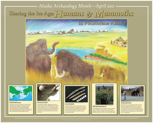 2011 human mammoth poster