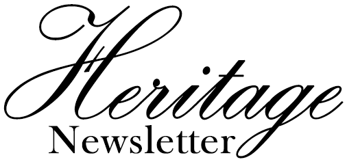 Heritage Newsletter