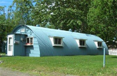 Us Army Surplus >> Quonset Hut
