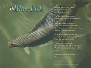 The Blue Fish Poem