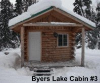 Byers Lake Cabin #3