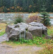Chilkoot River Marker