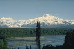 Mt. McKinley from Viewpoint South