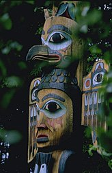 Totem Pole at Totem Bight SHP