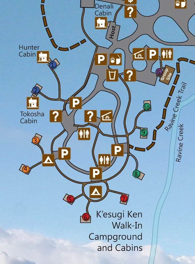 K'esugi Ken Walk-In Campgrounds