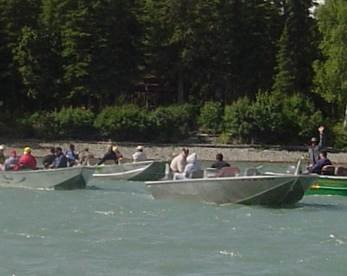 Boating on the Kenai